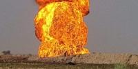 انفجار خط لوله گاز در جنوب عراق ناشی از حمله پهپادی