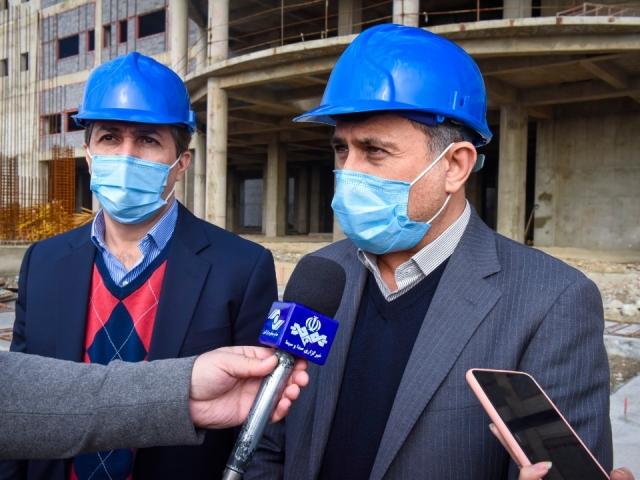 تنها بیمارستان یون درمانی خاورمیانه در البرز در حال تکمیل است