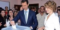 بشار اسد با کسب ۹۵.۱ درصد آرا پیروز انتخابات سوریه شد